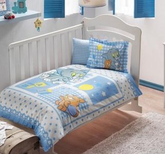 Детский постельный комплект ТМ TAС Tom and Jerry Baby Blue