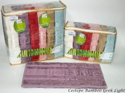 Набор полотенец из 6 штук ТМ Cestepe Bamboo Greek Light