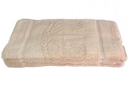 Полотенце для ног Узбекистан 650г/м2 капучино 45*70