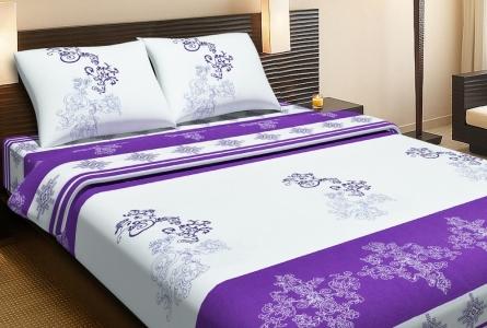 Постельное бельё ранфорс ТМ Lotus Royal фиолетовый