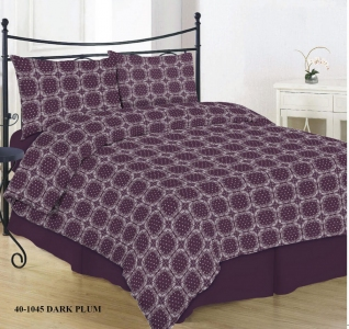 Постельное белье ТМ Novita фланель 40-1045 dark plum