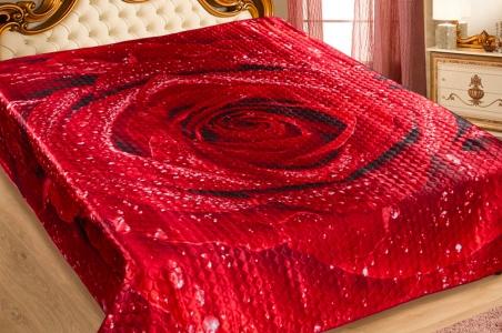 Покрывало искусственный шелк 3D ТМ Love you Marianna Розалинда 230x250