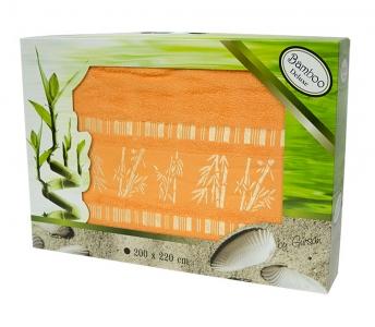 Простынь бамбуковая ТМ Gursan orange 200х220