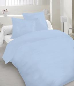 Постельное белье ТМ Nostra сатин гладкокрашеный 00-0186 Forever Blue Active