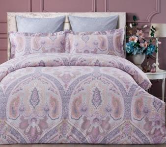 Постельное белье ТМ Arya сатин Pure Living Dakota розовое