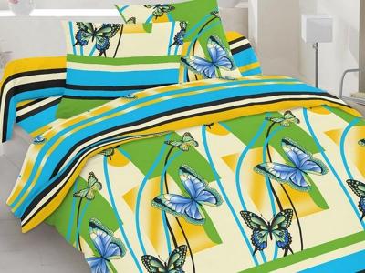 Постельное белье ТМ Novita бязь 40-0528 Blue