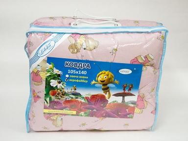 Одеяло детское ТМ Leleka-Textile Оптима розовое