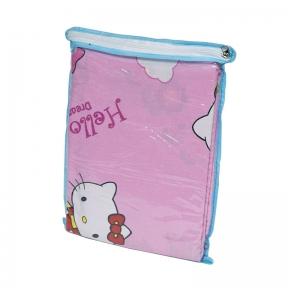 Детский постельный комплект ТМ Leleka-Textile ранфорс Китти розовый