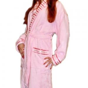 Халат махровый ТМ Mariposa розовый женский