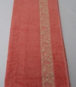 Полотенце ТМ Arya бамбук Aleda персиковое 70х140