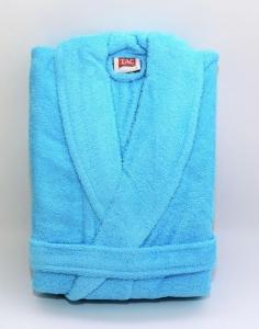 Халат махровый ТМ ТАС Soft turquoise L