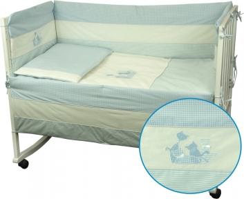 Детский постельный комплект ТМ Руно Котята голубой