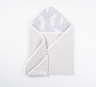 Полотенце-уголок для купания ТМ Lotus Feather 02