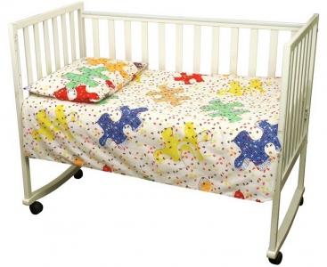 Детский постельный комплект ТМ Руно Пазлы 02