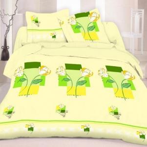Постельное белье ТМ Nostra бязь-люкс 20-0128 Green