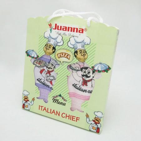 Набор полотенец кухонных ТМ Juanna Itaian Chef 2шт 50х70см