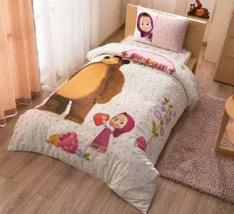 Подростковый постельный комплект ТМ TAС Маша и Медведь