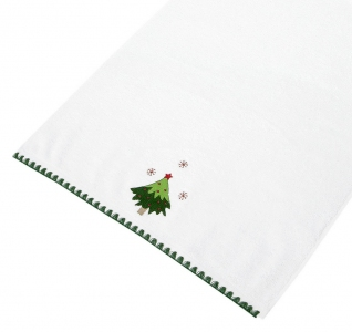 Полотенце махровое ТМ Arya Рождество Lucia 50х90