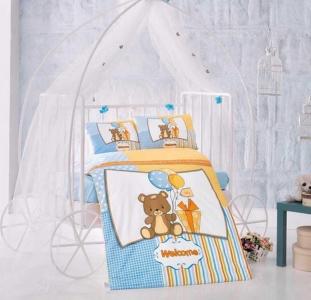 Детский постельный комплект ТМ Clasy Ласковый мишка