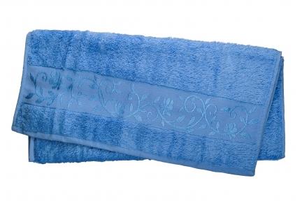 Полотенце ТМ Hanibaba Bamboo голубой