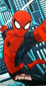 Полотенце велюровое пляжное Турция Spider-Man 75х150 см