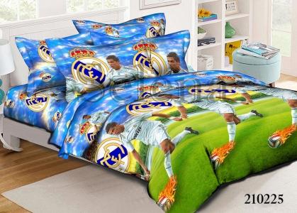 Подростковое постельное белье ТМ Selena ранфорс Криштиану Роналду 210225