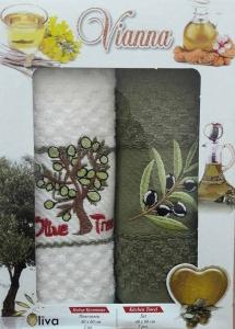 Набор полотенец кухонных ТМ Vianna 2VG007 40х60