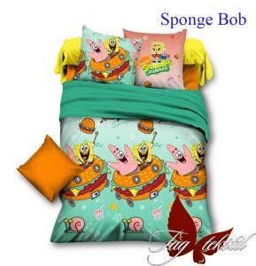Подростковый постельный комплект ТМ TAG Sponge Bob