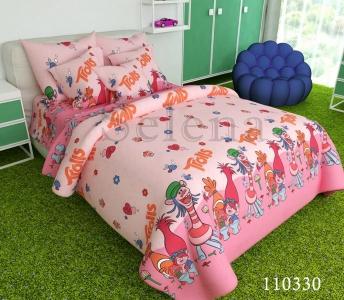 Подростковое постельное белье ТМ Selena бязь Тролли 110330