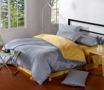 Постельное белье сатин ТМ Bella Villa B-0110 евро-размер