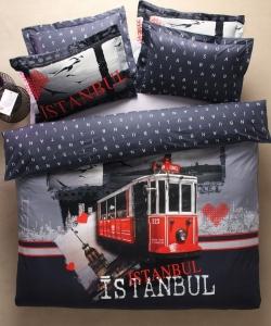 Постельное бельё ТМ Karaca Home ранфорс Istanbul евро-размер