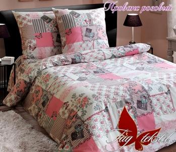 Постельное белье ТМ TAG ранфорс Прованс розовый