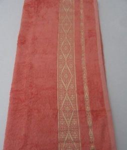 Полотенце ТМ Arya бамбук Kayra персиковое 70х140