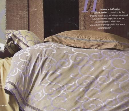 Постельное бельё жаккард с вышивкой ТМ Word of Dream FSM379
