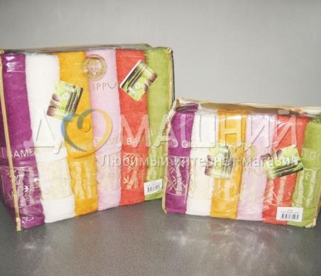 Набор полотенец из хлопка ТМ Philippus Bamboo Gold E382