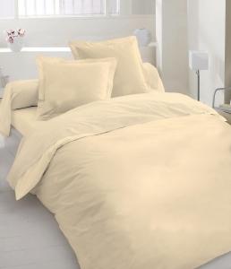 Постельное белье ТМ Nostra сатин гладкокрашеный 00-0060 Beige Active