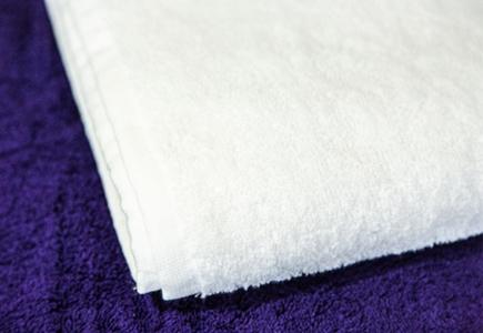 Махровое полотенце Узбекистан 480г/м2 белое