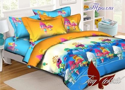 Подростковый постельный комплект ТМ TAG Тролли