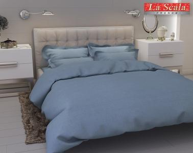 Льняное постельное белье ТМ La Scala L-01