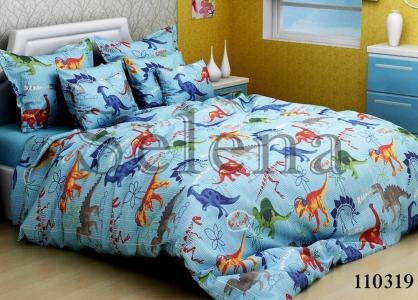 Подростковое постельное белье ТМ Selena бязь Динозаврики 110319