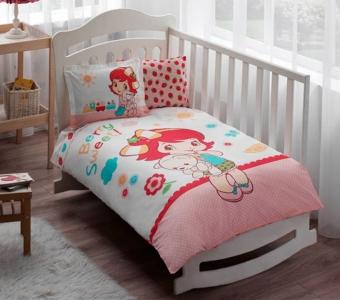 Детский постельный комплект ТМ TAС Strawberry Shortcake Sleepy Baby