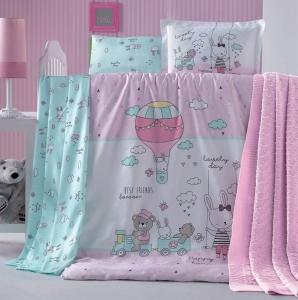 Детский постельный комплект ТМ Luoca Patisca Parco