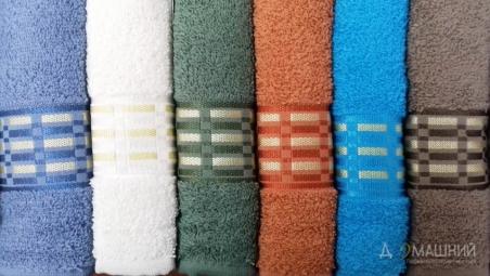 Набор махровых полотенец Turkiz Jakarli Lisa