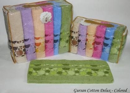 Набор полотенец из 6 штук ТМ Gursan Cotton Colored