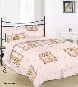 Постельное белье ТМ Nostra бязь Gold 40-0751 Brown