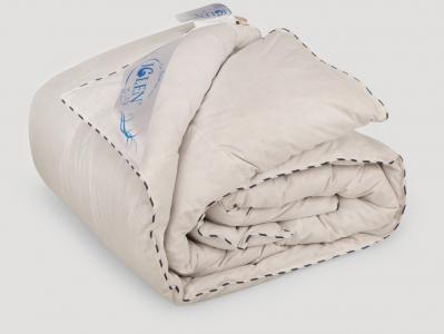 Одеяло облегченное ТМ Iglen пух серый