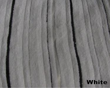 Полотенце ТМ Arya бамбук-жаккард Floslu белое 90X150