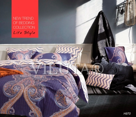 Постельное бельё ТМ Вилюта Tiare 970 евро-размер
