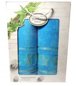 Набор полотенец из 2 штук ТМ Gursan Bamboo в ассортименте