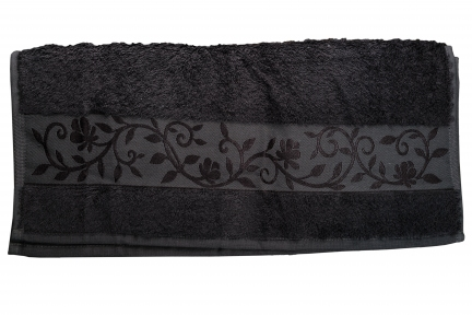 Полотенце ТМ Hanibaba Bamboo графит